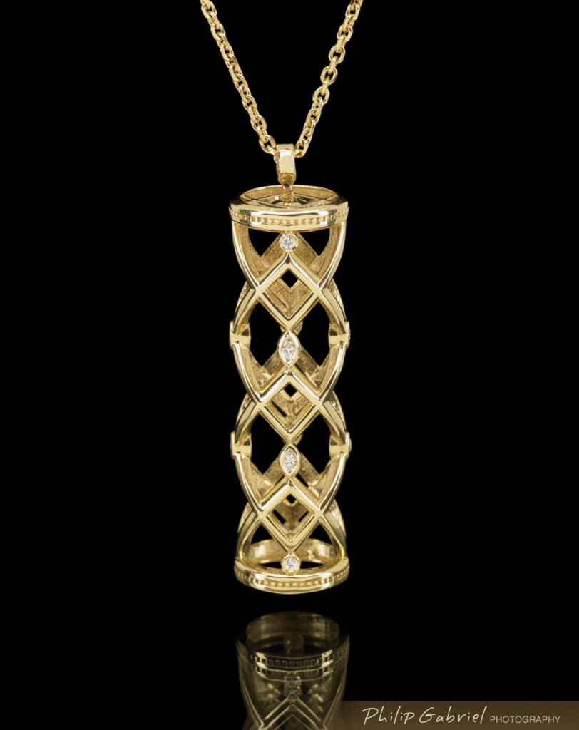 Product Jewelry Necklace Photographed by Philip Gabriel Photography