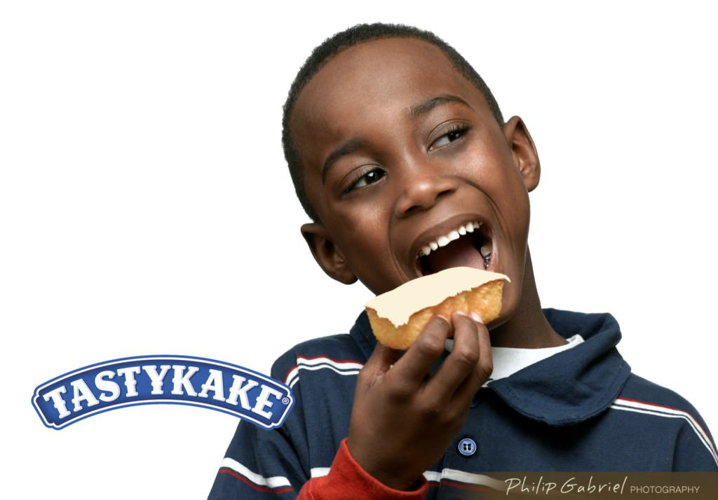 Advertising Product Tastykake Food Photographed by Philip Gabriel Photography