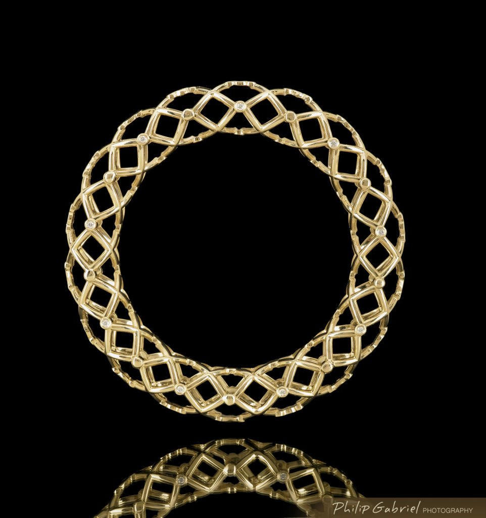 Products Jewelry Bracelet Bangle Photographed by Philip Gabriel Photography