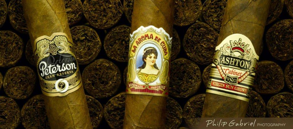 Products Ashton Peterson La aroma de cuba cigars Photographed by Philip Gabriel Photography