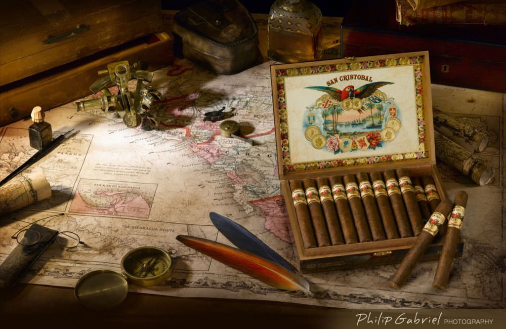 Products Advertising Cigars Photographed by Philip Gabriel Photography