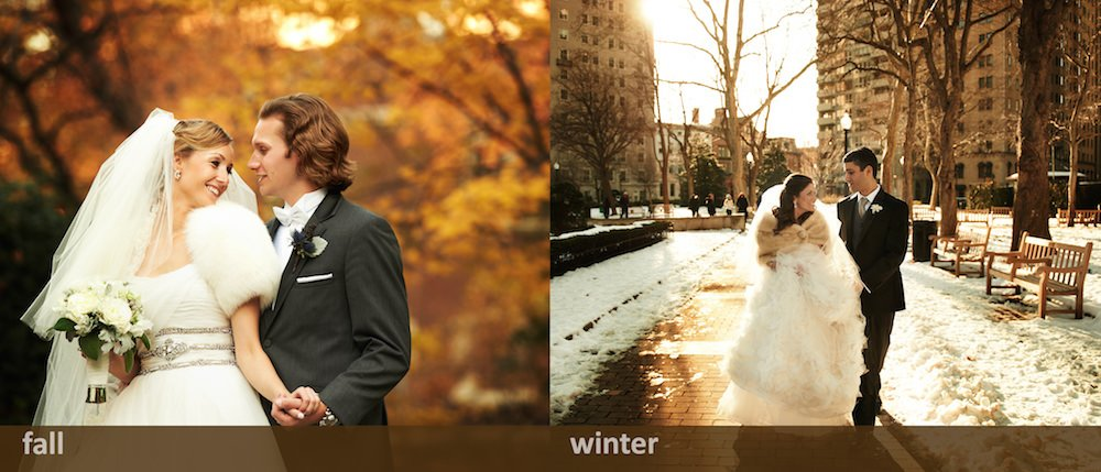 Fall and Winter Weddings