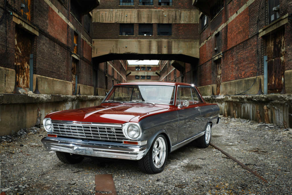 Classic Car Red Photographed by Philip Gabriel Photography