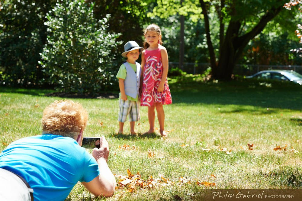 Taking Outdoor Photos Of Your Children