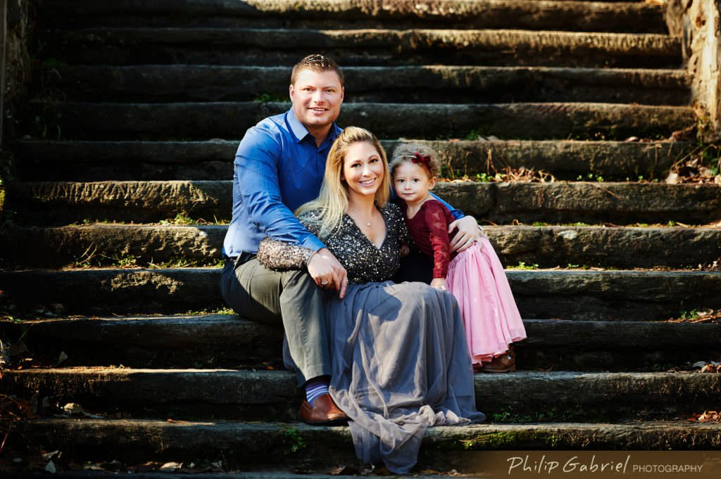 Family session in Ridley Creek State Park Pennsylvania