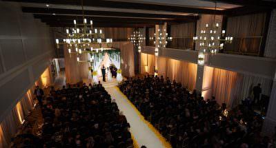 Wedding Ceremony at The Lucy Philadelphia