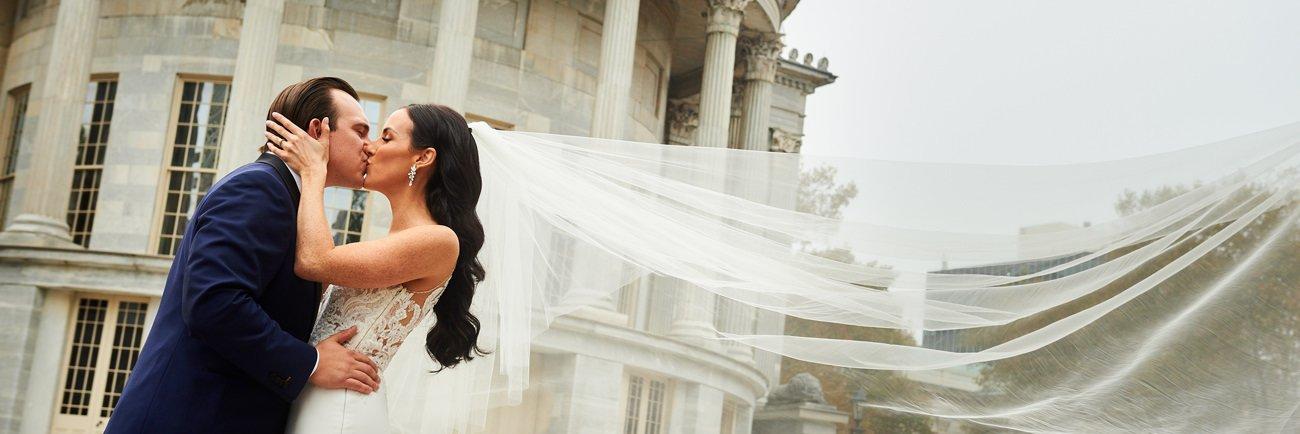 Bridget and Vince's October Wedding in Philadelphia