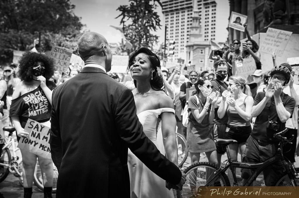 Micro wedding at The Logan Hotel Philadlephia