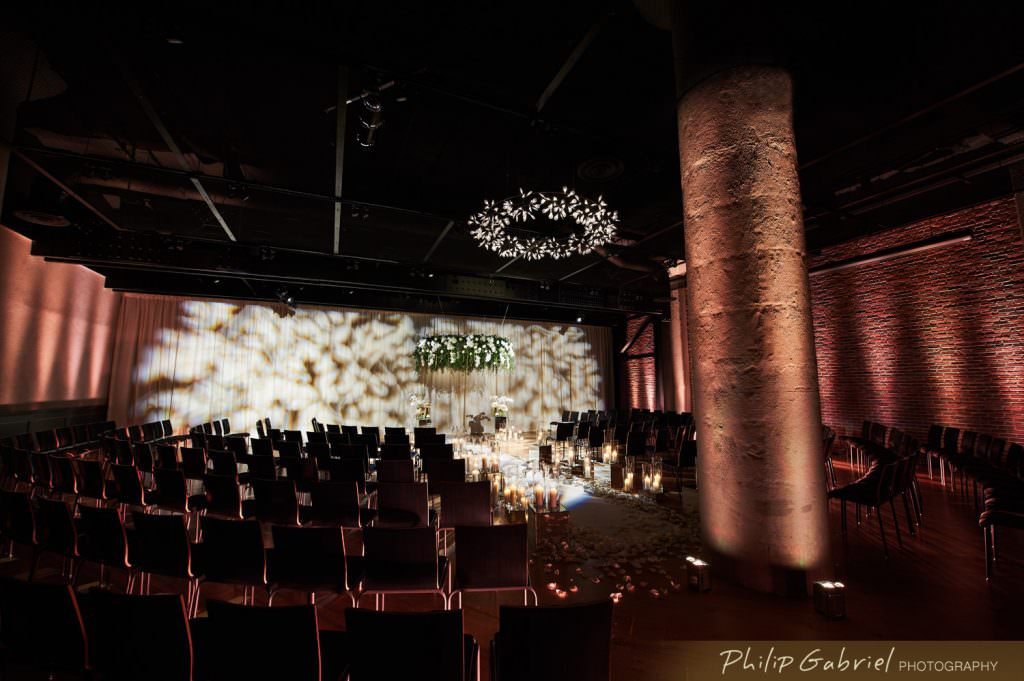 Architecture Interior Wedding Ceremony Photographed by Philip Gabriel Photography