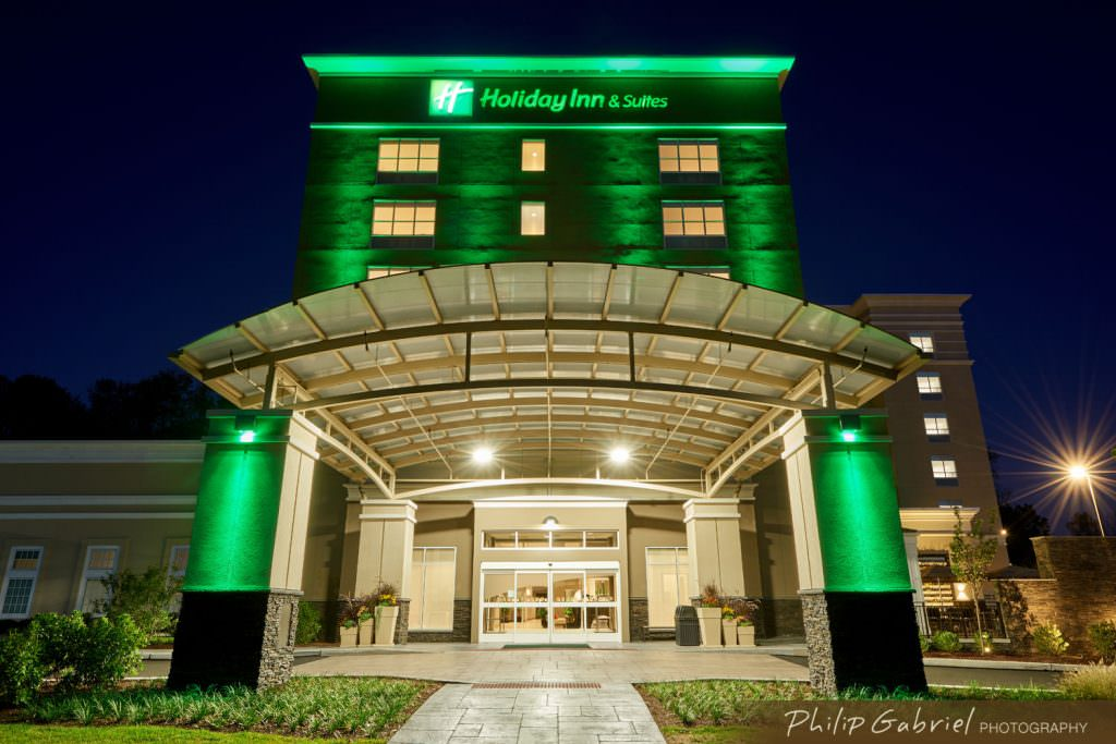Architecture Exterior Hotel Holiday Inn Drexelbrook Drexel Hill Pennsylvania Photographed by Philip Gabriel Photography