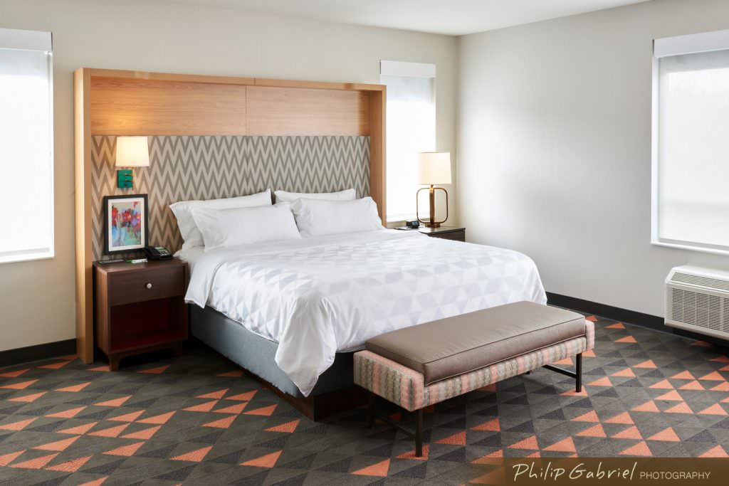 Architecture Interior Hotel Guest Room Drexelbrook Drexel Hill Pennsylvania Photographed by Philip Gabriel Photography