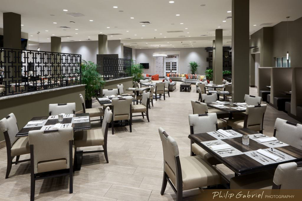 Architecture Interior Holiday Inn Hotel Dining Room Drexelbrook Drexel Hill Pennsylvania Photographed by Philip Gabriel Photography