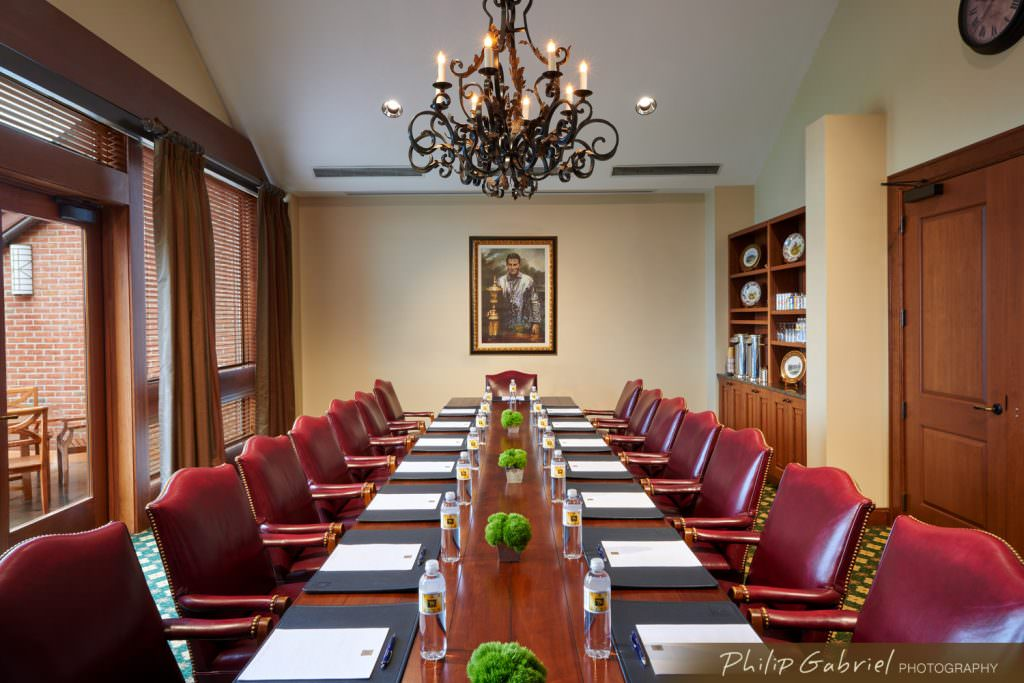 Architecture Interior Chubb Hotel and Conference Center Meeting Room Lafayette Hill Pennsylvania Photographed by Philip Gabriel Photography