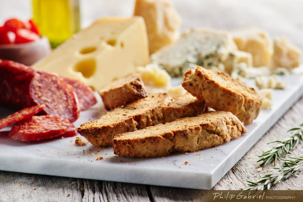 Italian Meats Cheeses and Biscotti Charcuterie Styled Photographed by Philip Gabriel Photography