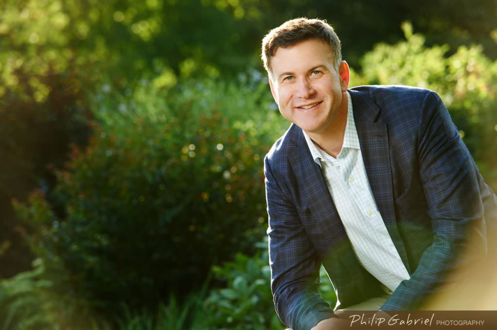 Corporate Headshot man outdoors Photographed by Philip Gabriel Photography