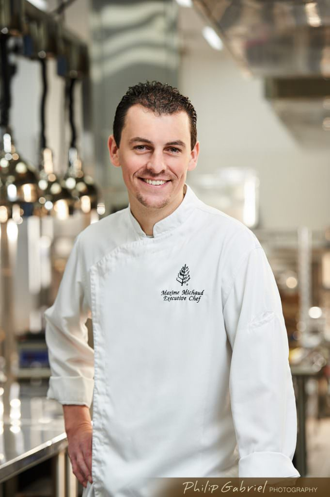 Headshot Executive Chef in Kitchen Photographed by Philip Gabriel Photography
