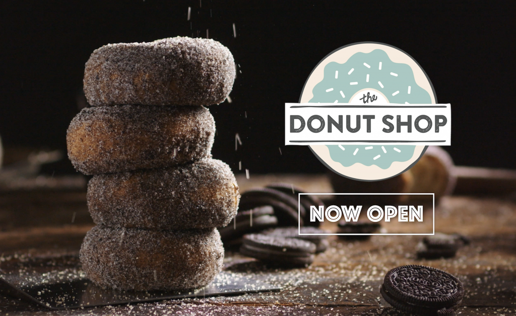 Video Stack of Donuts Promotional for Digital Marketing Advertisement Styled Philip Gabriel Photography