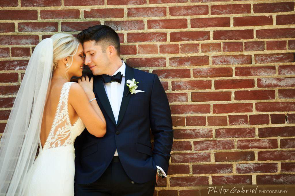 Wedding Photos on Dock Street in Old City Philadelphia