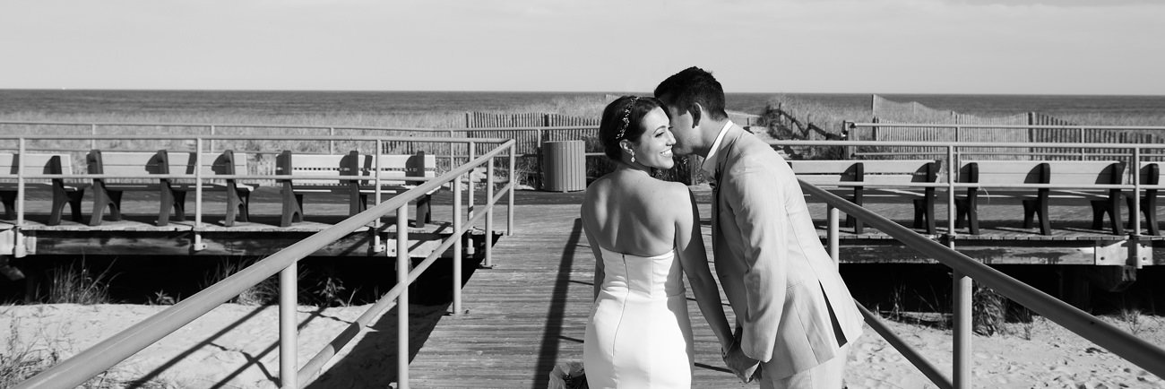 Jenna and Josh's Intimate Wedding in Margate!