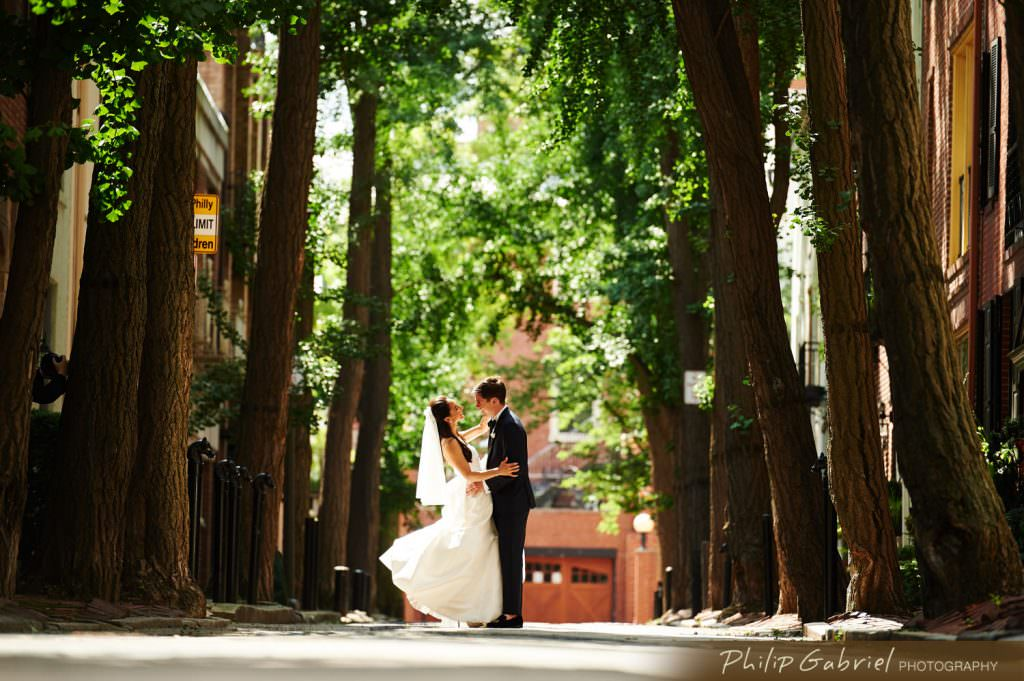 Wedding Photos in Center City Philadelphia