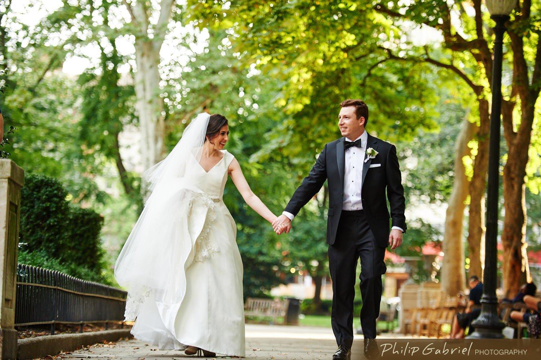 Wedding photos at The Rittenhouse