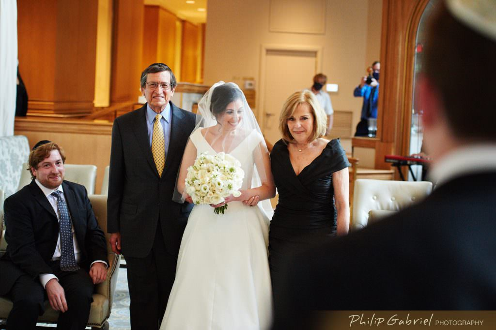 Wedding ceremony at The Rittenhouse