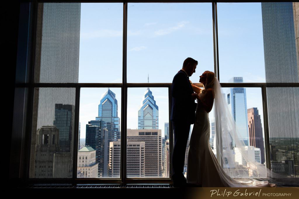Wedding photos at the Loews Hotel Philadelphia