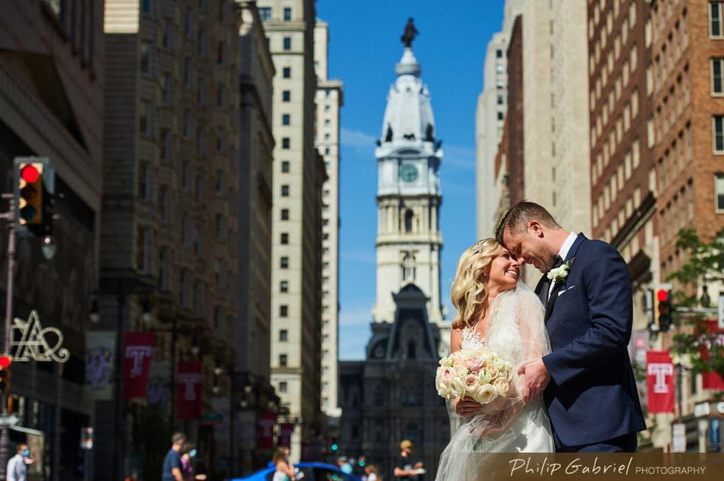 Wedding photos in Center CityPhiladelphia