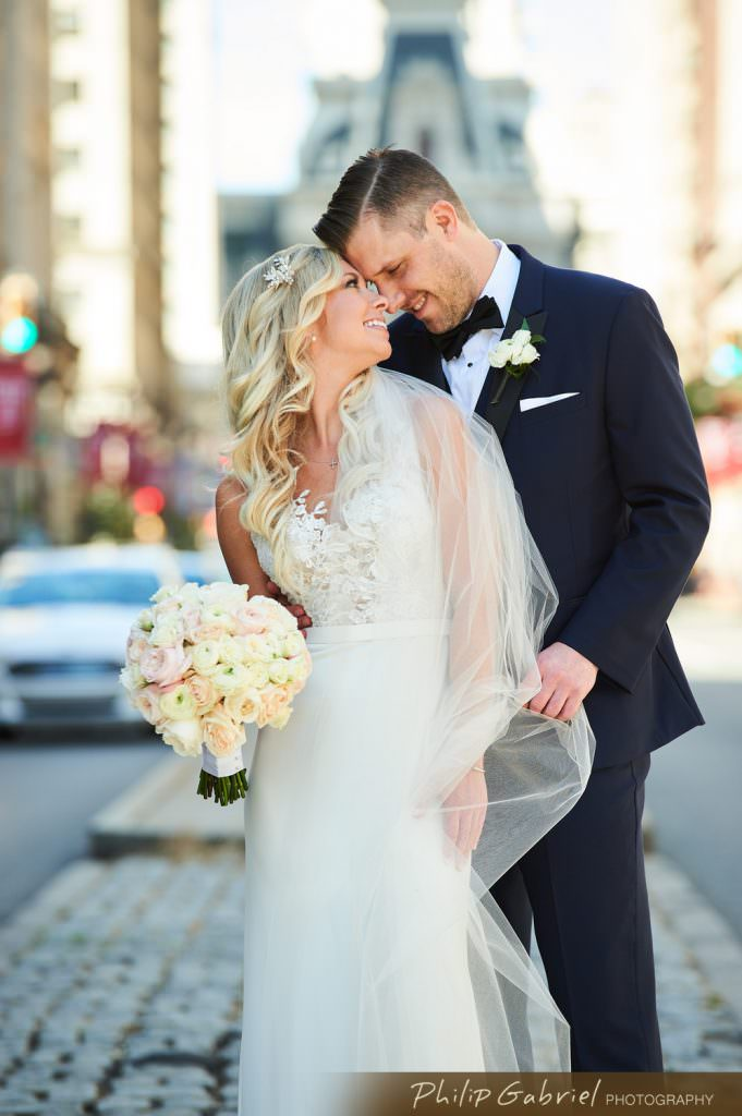 Wedding photos in Center CityPhiladelphia