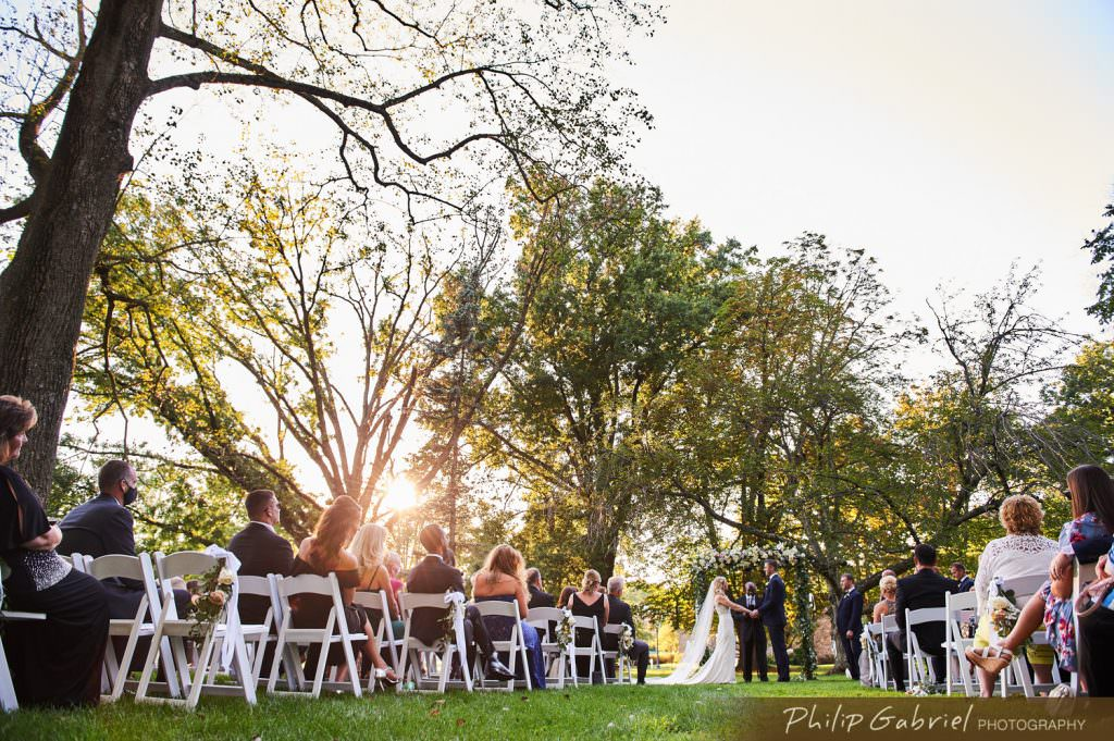 Outdoor Wedding at The Ballroom at Ellis Preserve